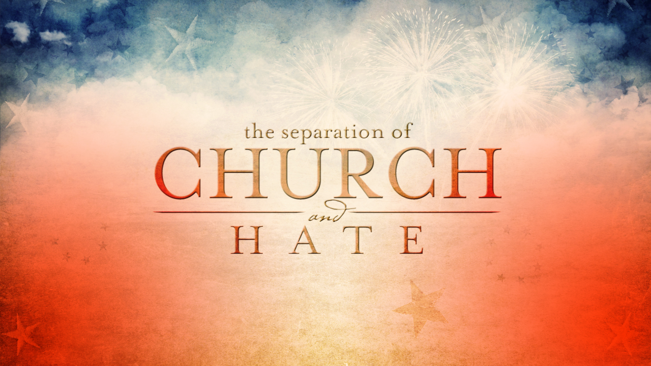 Separation Of Church And State Research Paper