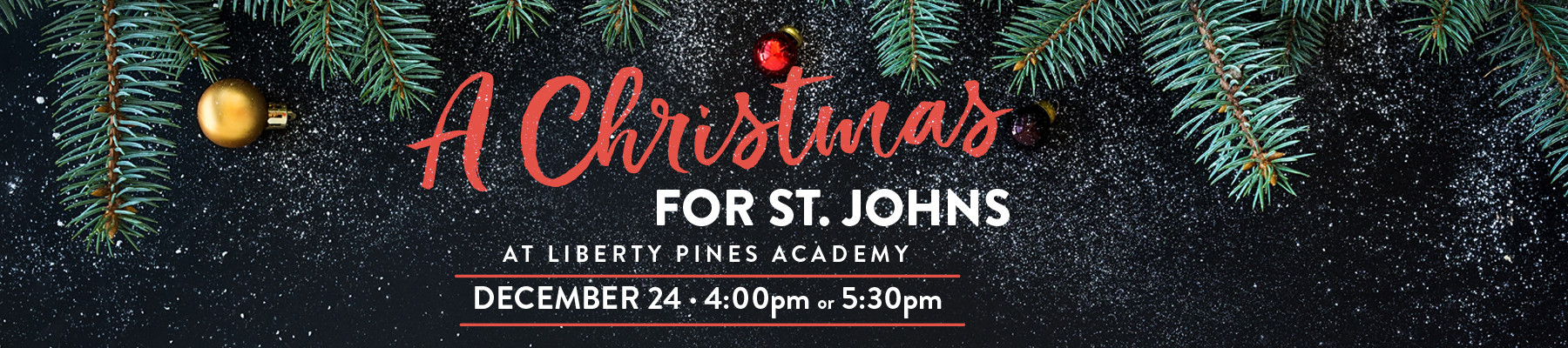 A Christmas for St. Johns