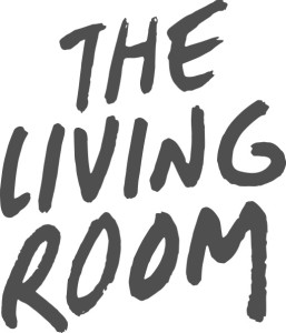 living room logo white background - Living Room Church