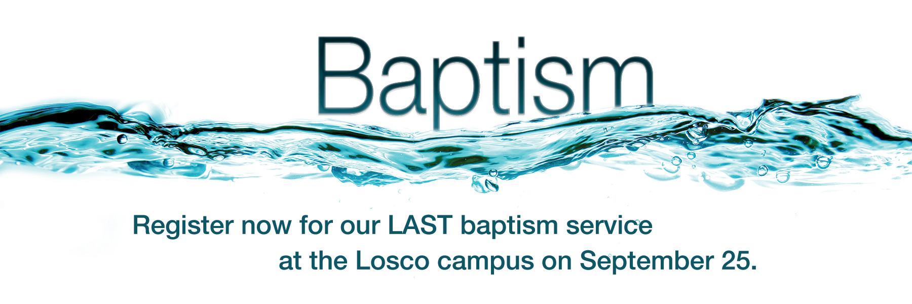 Losco Baptism